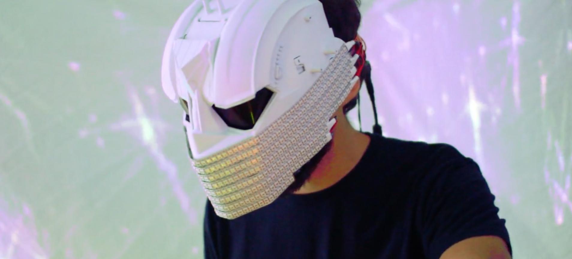 Audio Reactive LED Mask