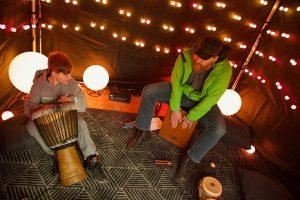 Aurora Jam Tent-Discover Tectoria 2018