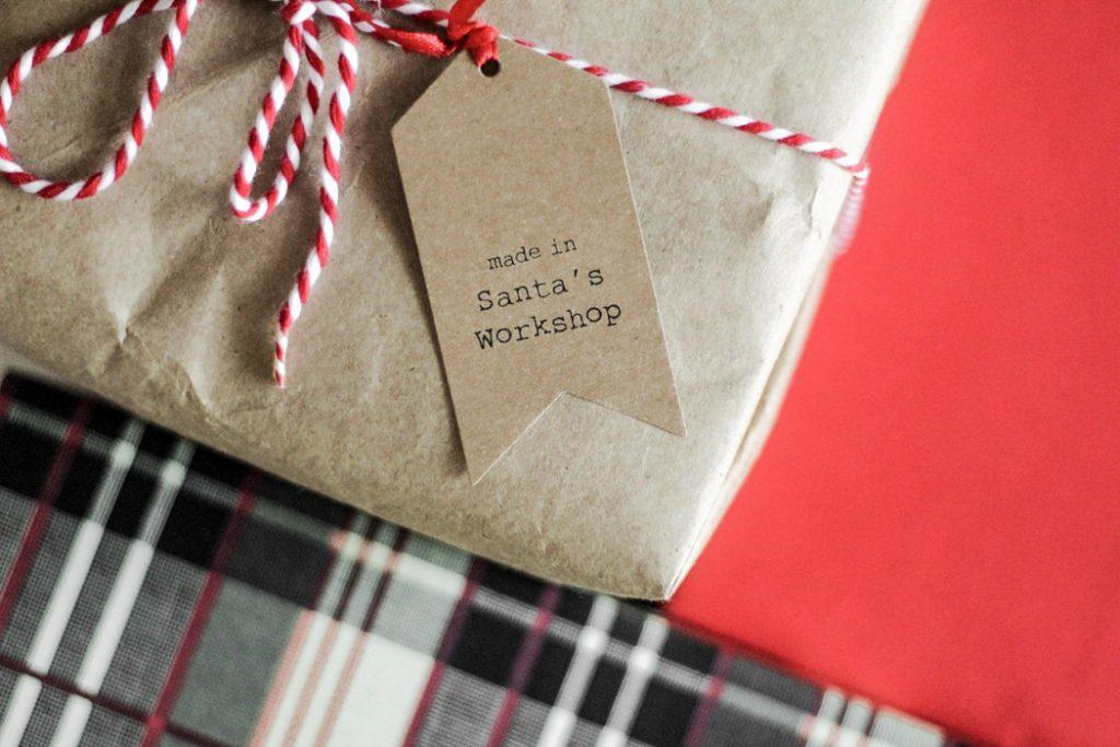 Present addressed from Santa