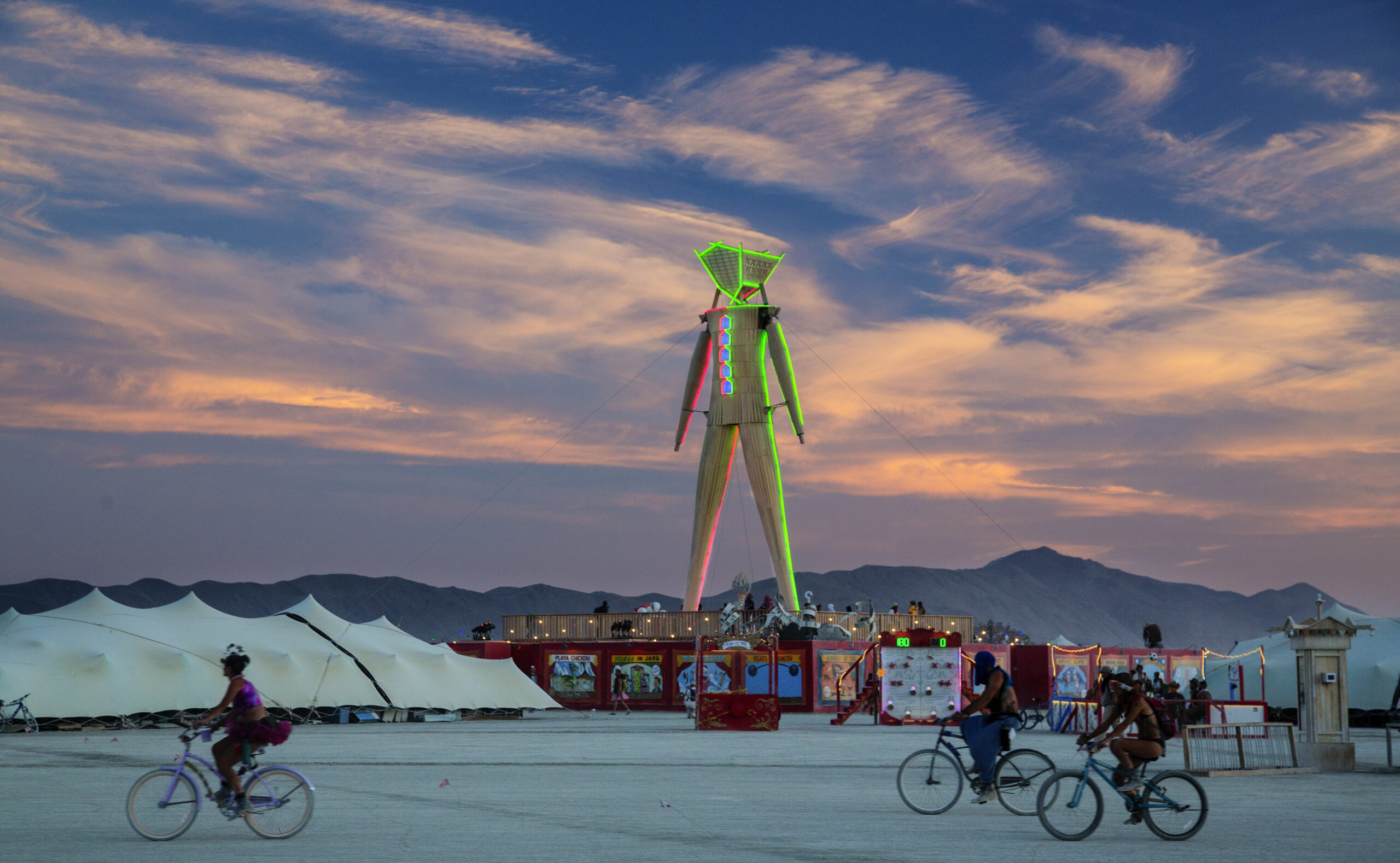 From Glowflow to Burning Man: The Evolution of Interactive Media