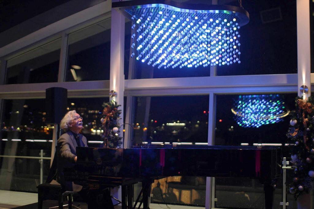 Aurora Piano Chandelier Victoria BC