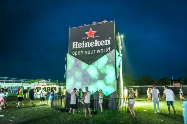 Heineken Tower at Festival