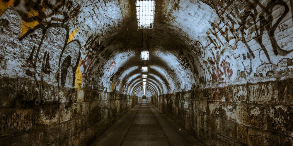 long dark tunnel